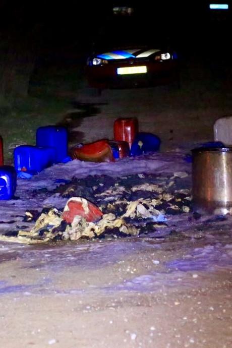 Nuenense familie weer getroffen door dump drugsafval