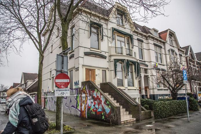De abortuskliniek aan de Oosterlaan in Zwolle.