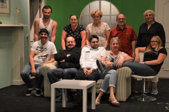 De acteurs van Lamme Goedzak zijn er klaar voor.