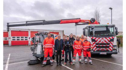 Vlaamse primeur: eerste elektrische veegwagen