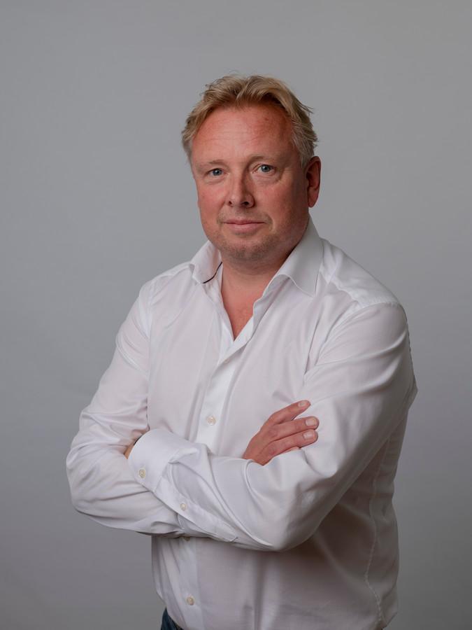 Portret van Paul van den Bosch.