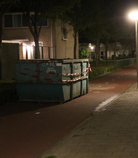 Container stond illegaal op fietspad Bergen op Zoom waar snorfietser zwaargewond raakte