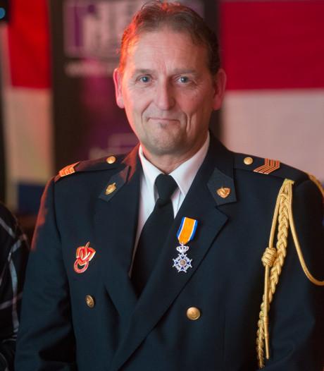 Zeelandse brandweerman koninklijk onderscheiden