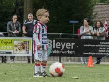 Drukbezochte voetbalclinic in Berkel-Enschot