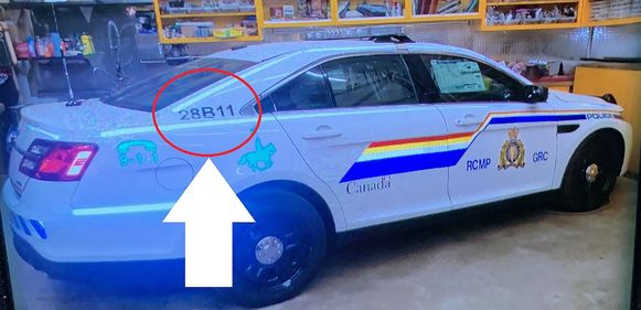De auto van Gabriel Wortman leek op een replica van een échte politiewagen. Later stapte hij over op een Chevrolet.