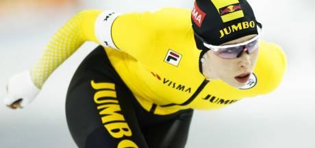 Geerdinck en De Jong winnen 500 meter op NK allround