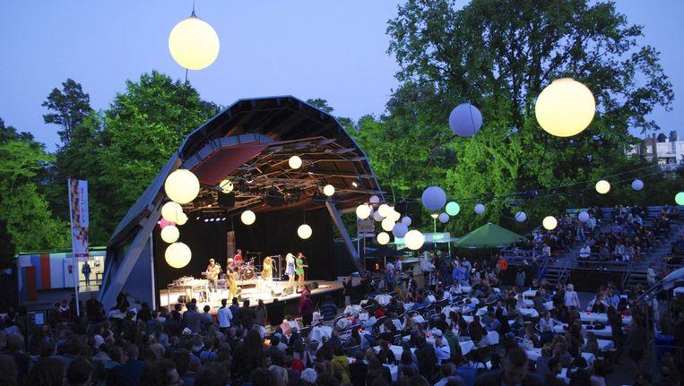 Openluchttheater Vondelpark Beeld -