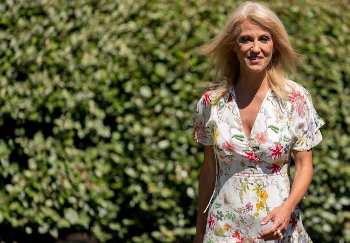 Kellyanne Conway heeft al meermaals laten doorschemeren dat ze seksueel is lastiggevallen door machtige mannen in de politiek.