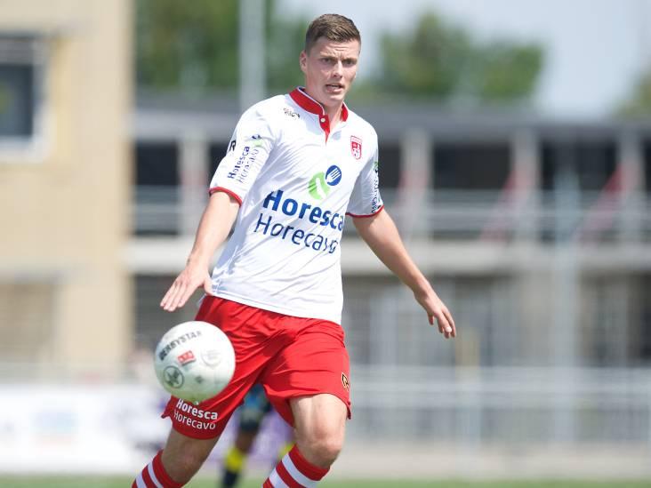 Voetballer Dylan Rietveld langer bij Noordwijk
