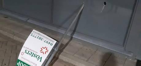 Onbekenden proberen met te koop-bord tankstation in Reusel binnen te komen: niet gelukt