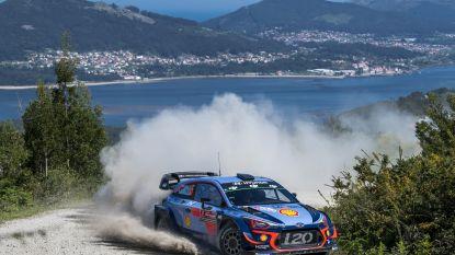 Thierry Neuville blijft na tumultueuze dag gespaard van pech en gaat aan de leiding in Rally van Portugal