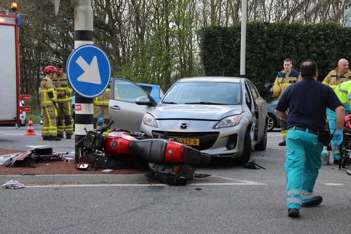 Twee gewonden na ongeval op N302 bij Harderwijk.