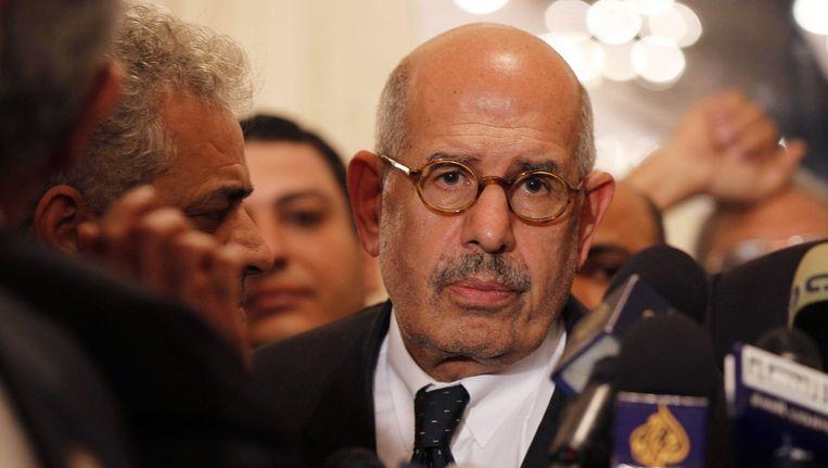 Mohamed ElBaradei Beeld AFP