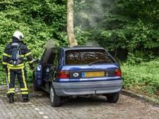 Dubieuze autobrand op parkeerplaats Breda