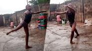 Video van balletsessie in de regen levert Nigeriaanse Anthony (11) dansbeurs in VS op