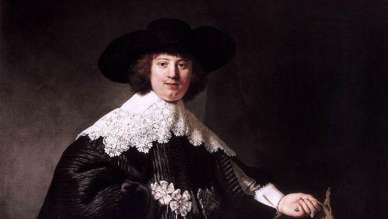 Portret van Maerten Soolmans door Rembrandt. Beeld .