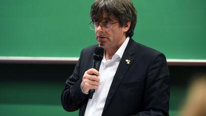 Carles Puigdemont geeft gastcollege aan KU Leuven