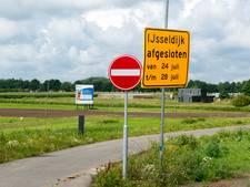 IJsseldijk nog een week langer dicht