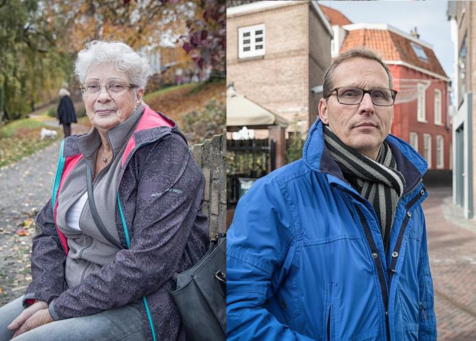 Marijke Stuut en Peter Nieuwenhuize zijn boos.