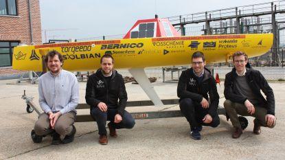 Jonge ingenieurs kijken uit naar lancering van hun autonome en onbemande boot in de Atlantische oceaan