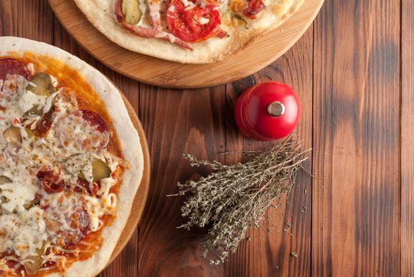 Moeilijk is het niet om zelf lekkere pizza te maken