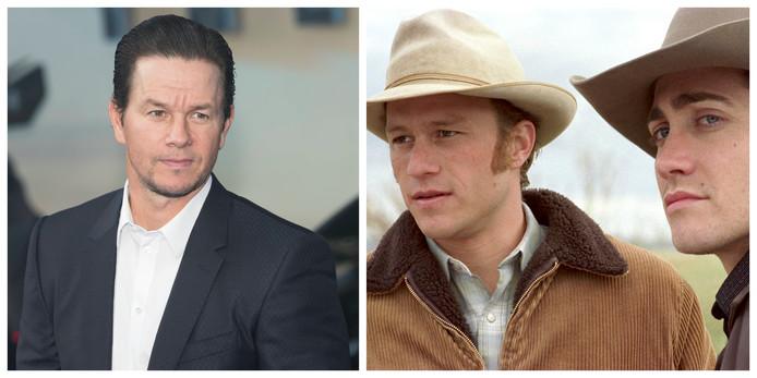 Mark Wahlberg en Heath Ledger & Jake Gyllenhaal in 'Brokeback Mountain'
