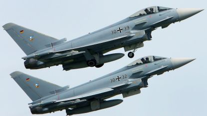 Twee straaljagers neergestort in Duitsland