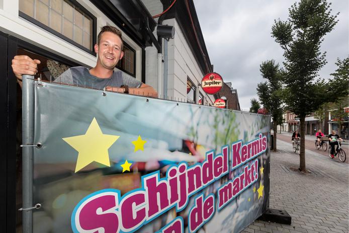 Roy van der Steen strijdt met zijn initiatiefgroep al ruim twee jaar voor het verplaatsen van de kermis in Schijndel naar het centrum.