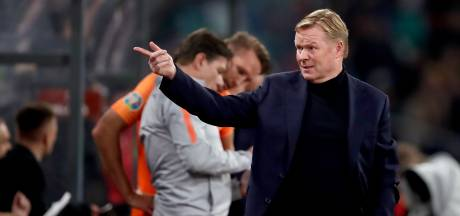KNVB: Koeman heeft clausule in contract over Barcelona