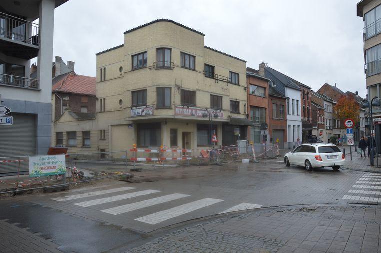Kruispunt 'Passage' in het centrum van Ninove is vanaf maandag afgesloten voor verkeer.