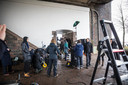 De opnamen voor de film De Veroordeling over de Deventer Moordzaak vonden vorig jaar plaats.