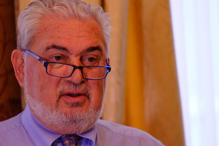 Fernand Huts, de man aan wie de percelen werden verkocht voor 17,5 miljoen euro.