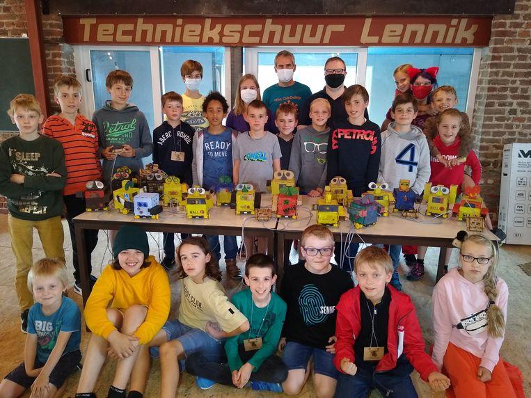 Tijdens het eerste kamp van de Techniekschuur kregen de kinderen een leuke opdracht.