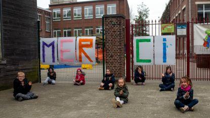 VIDEO. Ook Borsbeek toont dankbaarheid voor de zorgsector
