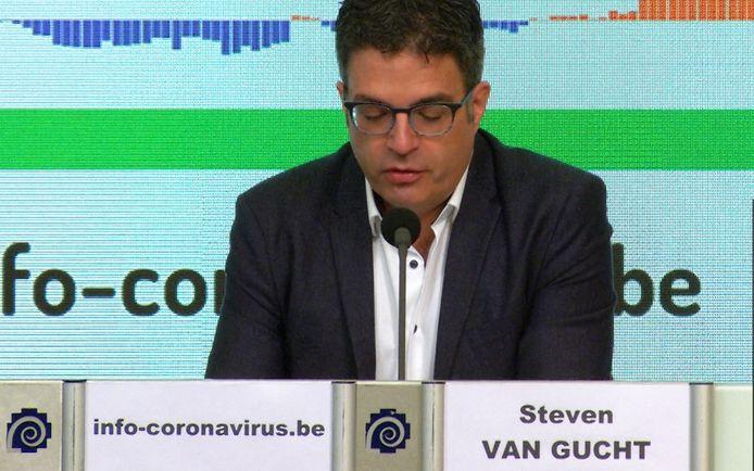 Steven Van Gucht (Sciensano)