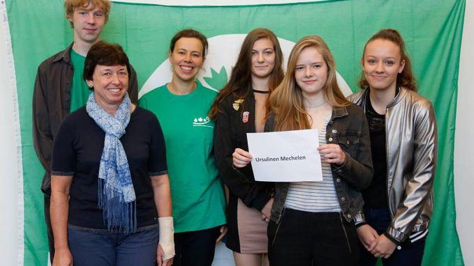 Ursulinen krijgt Groene Vlag voor milieuzorg