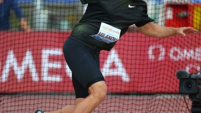 Philip Milanov wordt vierde op Diamond League Stockholm