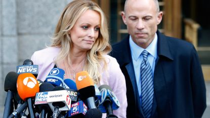 """Pornoster verhoord in zaak tegen Trumps advocaat: """"Waarheid zal aan het licht komen"""""""