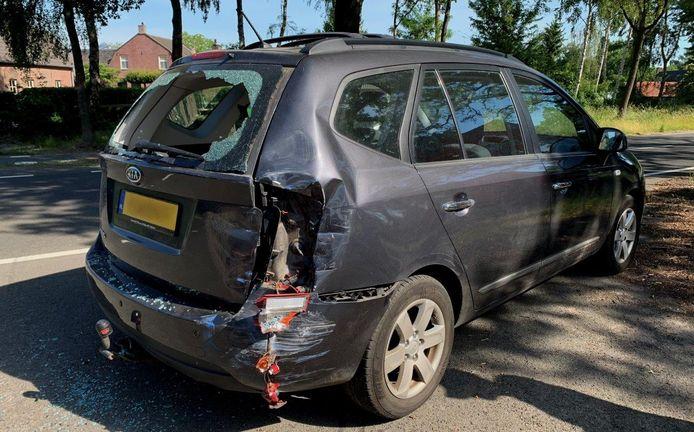 Ongeval op N65 bij Helvoirt.