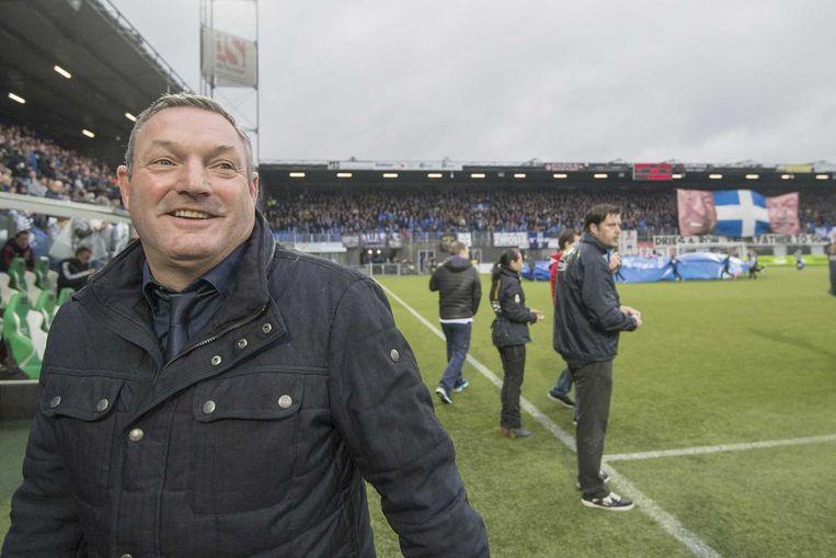 Ron Jans, trainer van PEC. Beeld anp