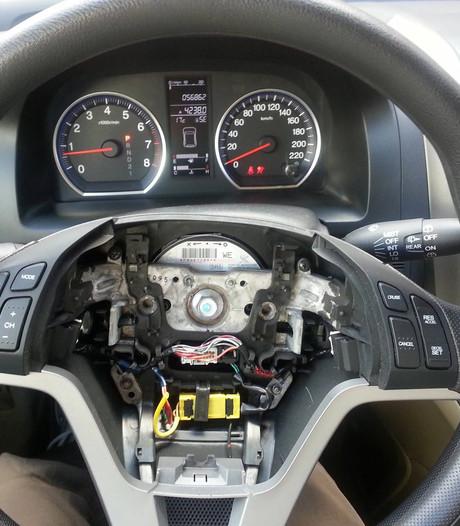 Navigatie en airbags populair bij autodieven