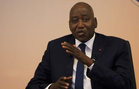 Amadou Gon Coulibaly.