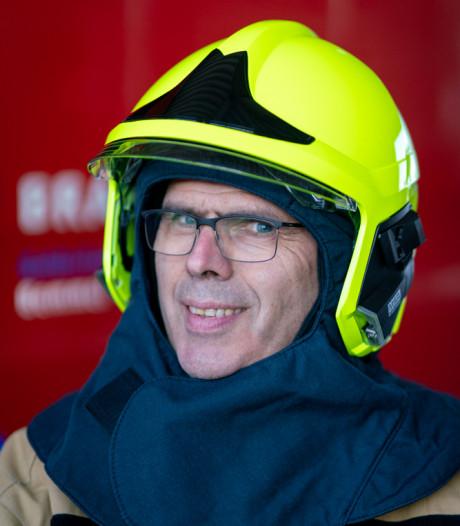 Nieuwe helm voor brandweerman: zoek de verschillen