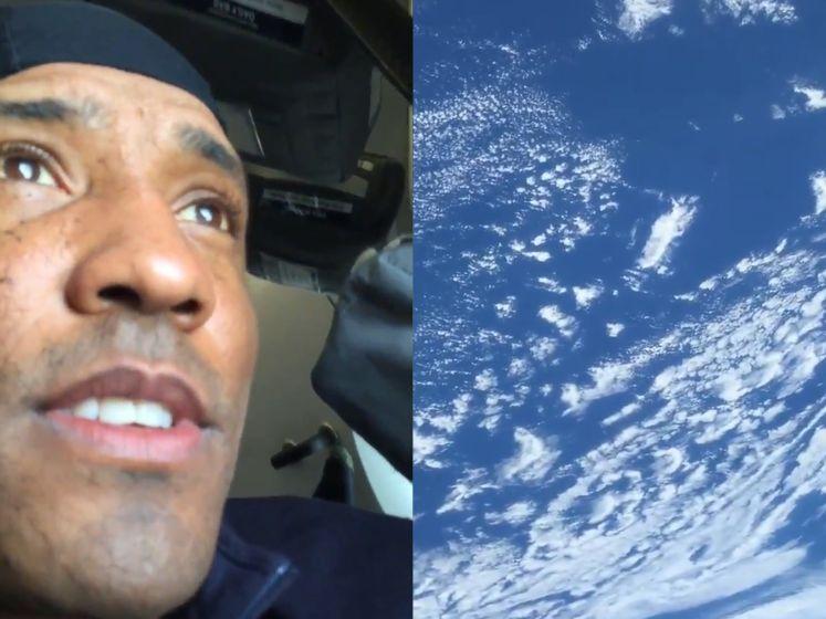 Astronaut toont adembenemend zicht vanuit SpaceX Crew Dragon