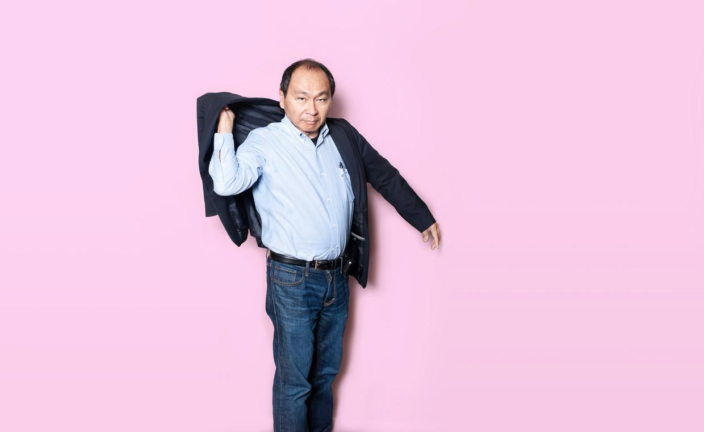 Francis Fukuyama, een Amerikaanse socioloog, politicoloog en filosoof. Beeld Els Zweerink
