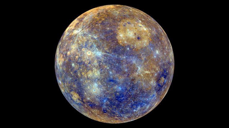 Messenger legde in 2011 Mercurius al in ongekend detail vast op de gevoelige plaat. Beeld Nasa