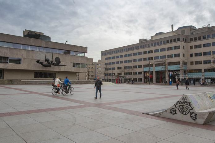 Eindhoven - stadskantoor en stadhuis