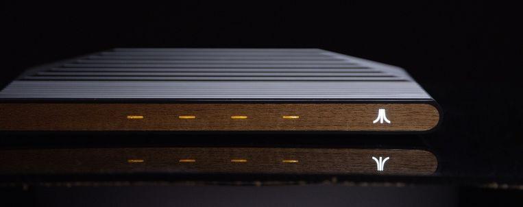 Conceptbeeld van de Ataribox.