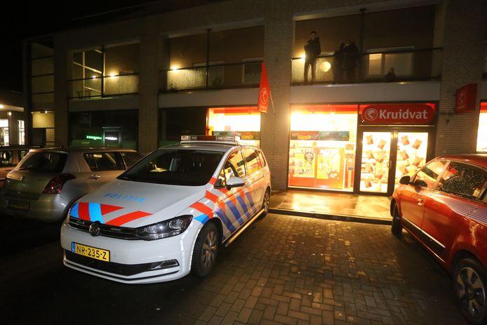 De Kruidvat in Rosmalen werd zaterdag 18 januari overvallen