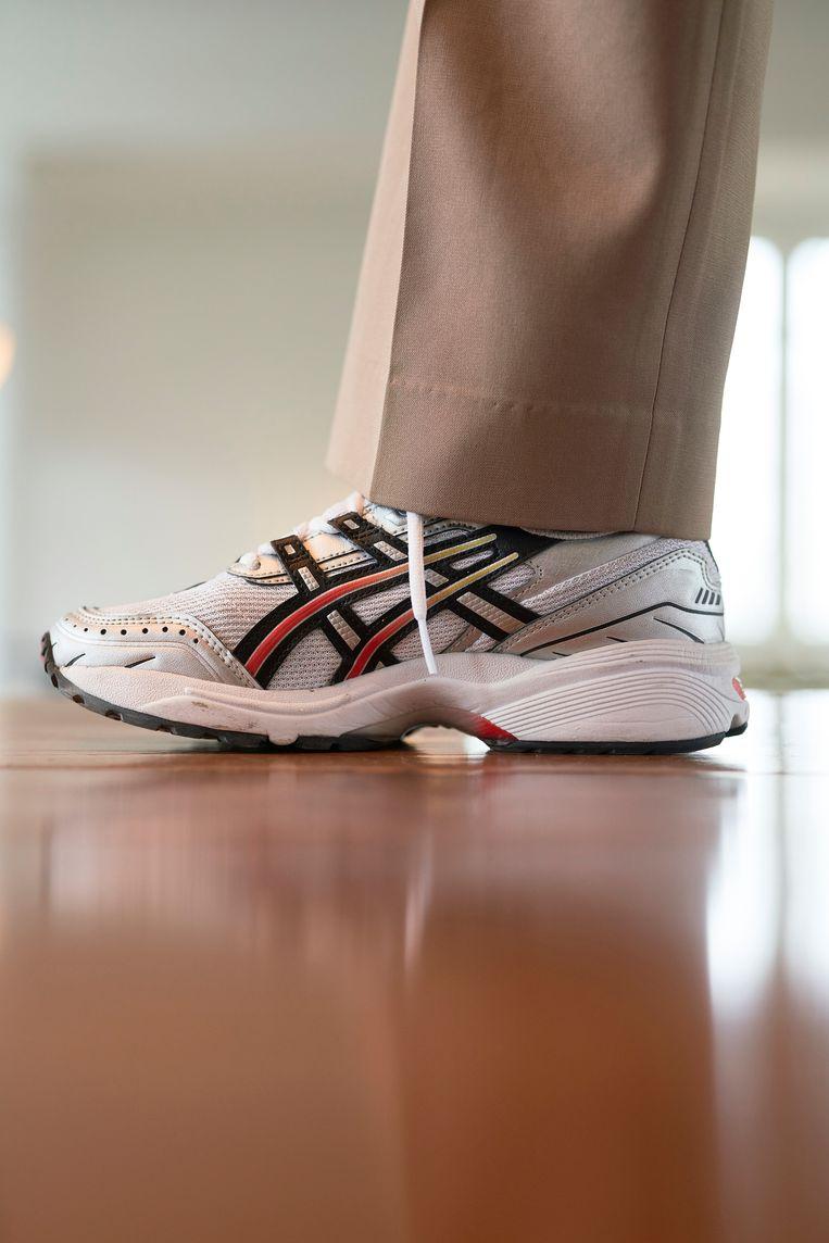 Asics-sneakers. Beeld Jordi Huisman